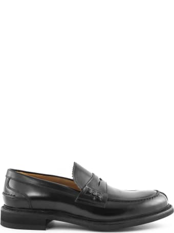 Berwick 1707 Black Leather Penny Loafer