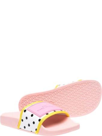 Little Marc Jacobs Polka Dot Slides