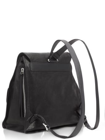 Rag & Bone Black Leather Field Backpack