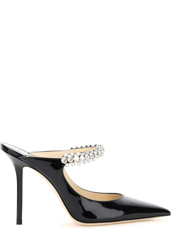 Jimmy Choo Bing Crystal Mules