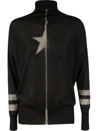 Lorena Antoniazzi Half Star Print Sweater
