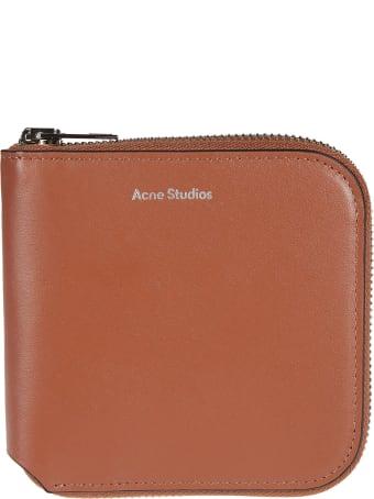 Acne Studios Logo Zip-around Wallet
