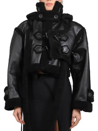 Ottolinger Black Vegan Teddy Jacket