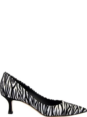 Ninalilou Decolte' Zebrato Bianco Nero