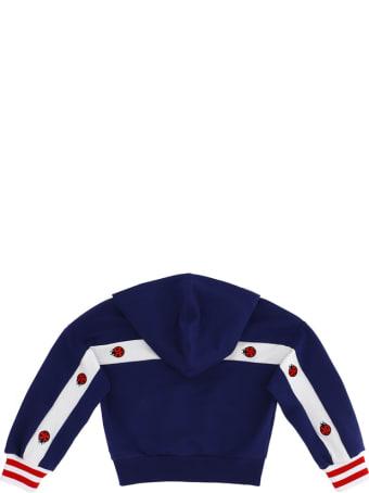 Monnalisa Stripe And Logo Sweatshirt