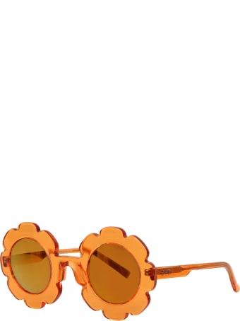 Sons + Daughters Orange Pixie Sunglasses