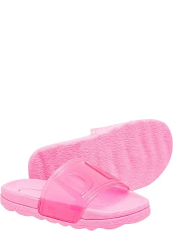 DKNY Pink Slippers