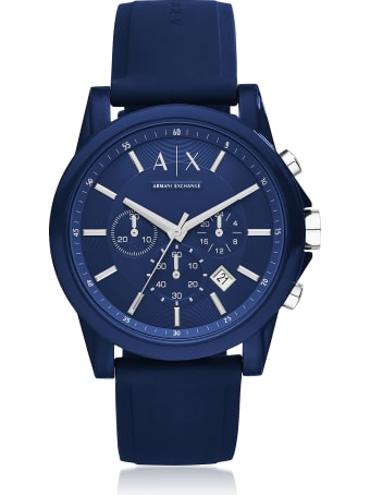 Armani Collezioni Armani Exchange -- Nylon Men's Watch