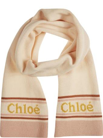 Chloé Logo Scarf