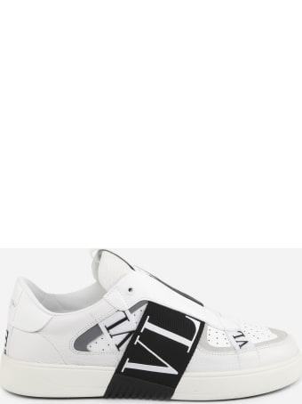 Valentino Garavani Vl7n Slip-on Sneakers In Leather