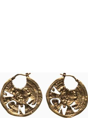 Acne Studios Coin Earrings C50197