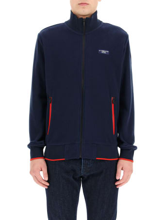 North Sails Kurow Sweatshirt With Zip And Logo
