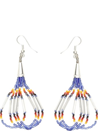 Jessie Western Small Beaded Earrings