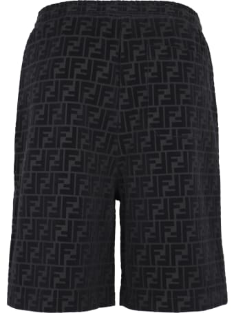 Fendi Cotton Bermuda Shorts