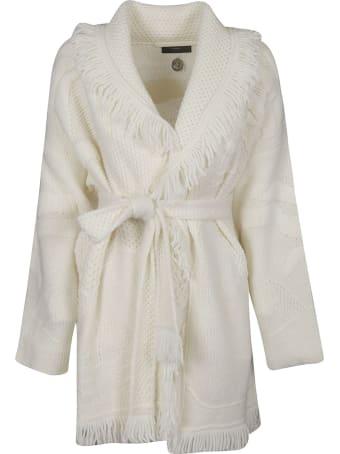 Alanui Polar Stitches Coat