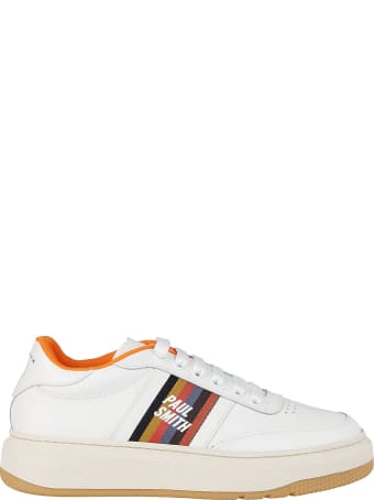 Paul Smith White Leather Sneakers