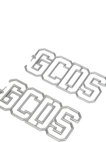 GCDS Silver Earrings