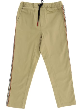 Burberry Curran Pants With Icon Stripes