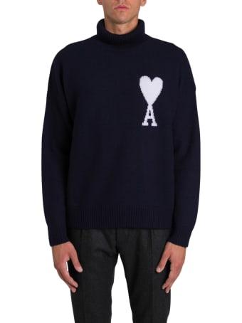Ami Alexandre Mattiussi Intarsia Sweater