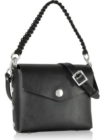 Rag & Bone Atlas Black Leather Shoulder Bag