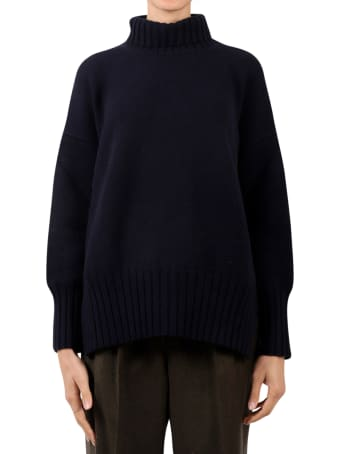 Massimo Alba Blue Cara Sweater
