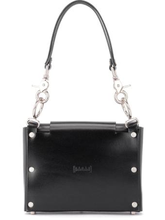Niels Peeraer Bow Buckle Small Black Leather Bag