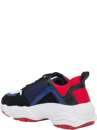 Pollini Sneaker With Platform Sole
