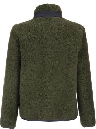 Fay Comfort Fit Jacket With Bouclé Fleece Exterior