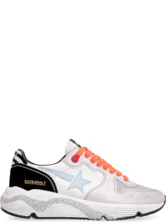 Golden Goose Running Sole Leather Low-top Sneakers