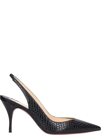 Christian Louboutin Claresing 80 Pumps In Black Leather