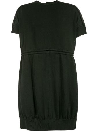 Maison Flaneur Belt-waist Tie Dress