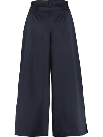 L'Autre Chose Cotton Culotte-pants
