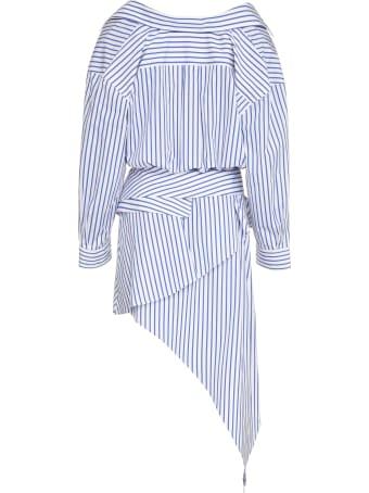Alexander Wang Cotton Asymmetric Shirtdress