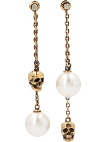 Alexander McQueen 'pearly' Earrings