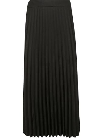 Be Blumarine Pleated Long Skirt
