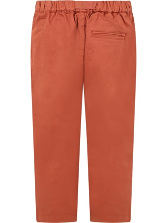 The New Society Red ''david'' Trouser For Kids