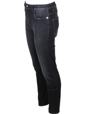 Sartoria Tramarossa Tres Belle Slim Stretch Denim Trousers With 5 Pockets
