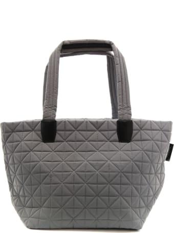 VeeCollective Medium Grey Vee Tote Bag In Recycled Nylon