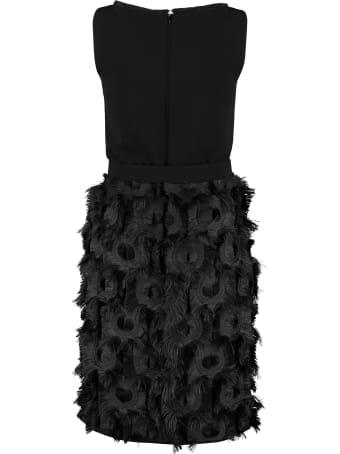 Max Mara Nastro Belted Waist Dress
