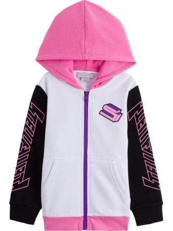 Stella McCartney Kids Sports Sweatshirt In Cotton Blend