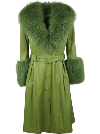 Saks Potts Foxy Shearling Coat