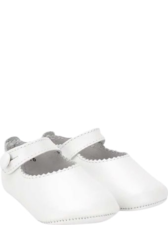 Gallucci White Shoes Kids