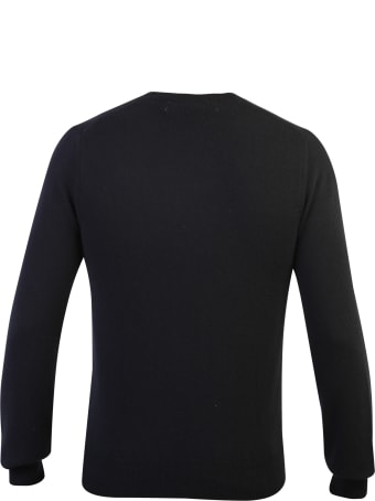 Comme des Garçons Play Embroidered Wool Sweater