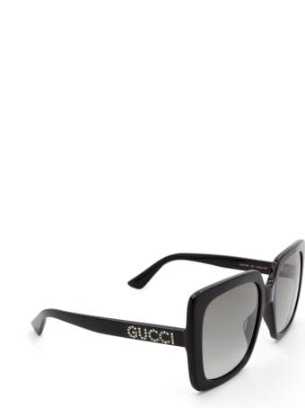 Gucci Gucci Gg0418s Black Sunglasses