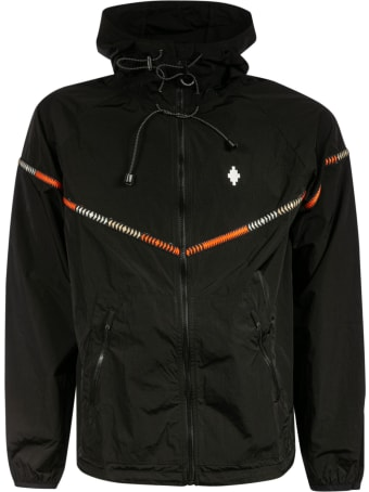 Marcelo Burlon Cross Nylon Tape Windbreaker