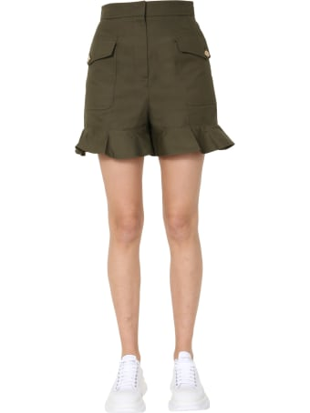Alexander McQueen Short With Ruches