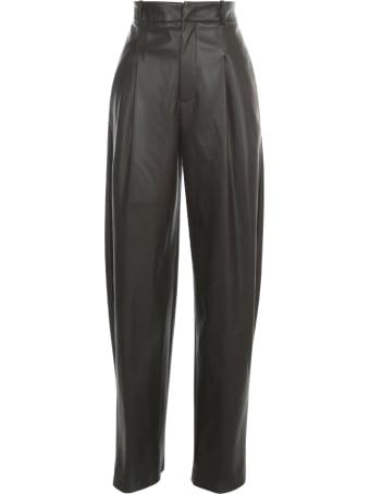Erika Cavallini Daniel Wide Leg Eco Leather Pants