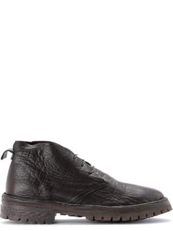 Moma Ankle Boot In Dark Brown Leather
