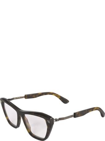 Mykita + Maison Margiela Cat-Eye Square Frame Glasses