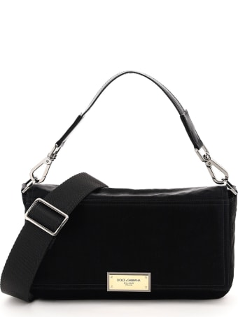 Dolce & Gabbana Samboil Nylon Shoulder Bag